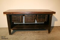 Industrial work sideboard with 9 drawer ICB-37 - Click photo for more details