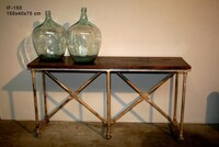 Industrial console table IF-150 - Click photo for more details