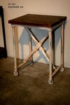 Industrial side table IF-151 - Click photo for more details