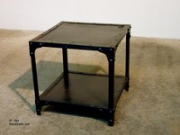 Industrial side table IF-164 - Click photo for more details