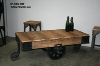 Industrial coffeetable - Click photo for more details