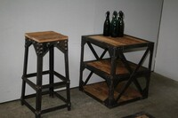 Industrial barstool - Click photo for more details