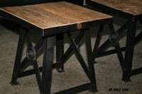 Industrial small table - Click photo for more details