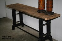 Industrial side table - Click photo for more details