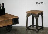 Industrial stool - Click photo for more details