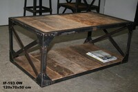 Industrial coffee table - Click photo for more details